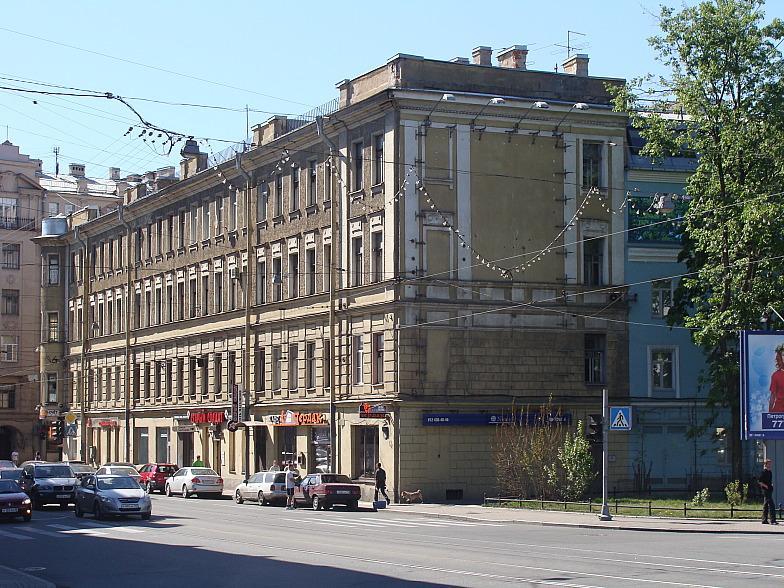 Петроградская сторона. Улица Куйбышева.