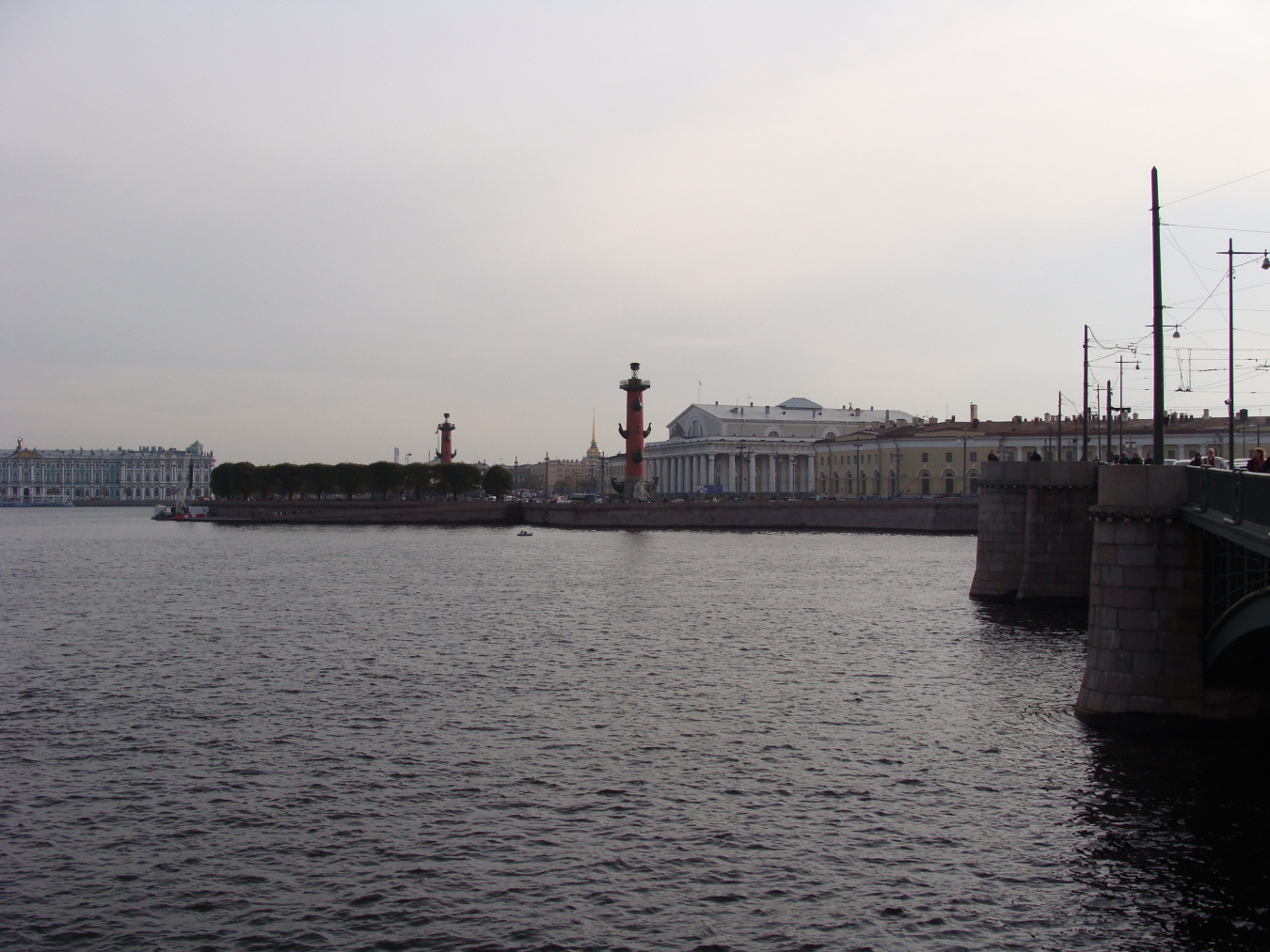 Стрелка Васильевского острова.