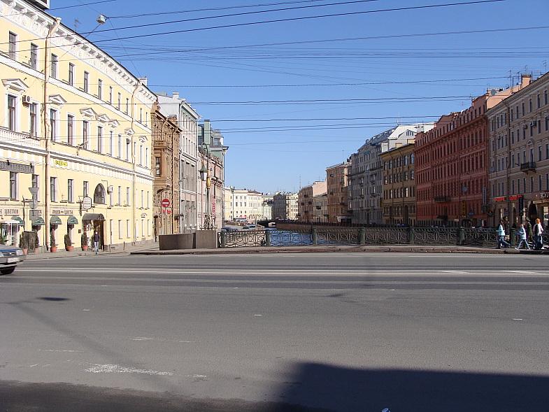 Река Мойка, Невский пр., Зелёный мост.