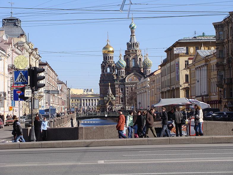Канал Грибоедова и Спасс на Крови