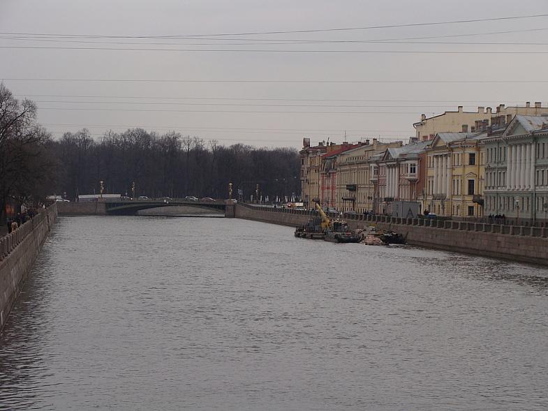 На реке Фонтанке