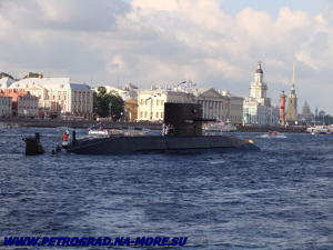 ПЛ Санкт-Петербург на рейде Невы